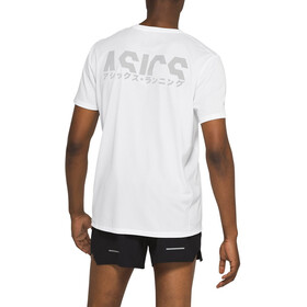 asics Katakana SS Top Men, brilliant white
